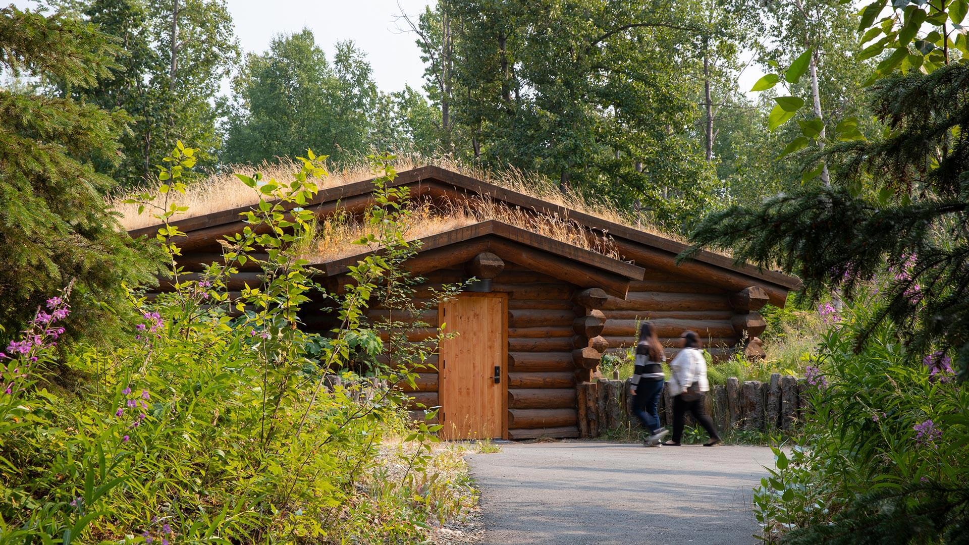 Alaska Native Heritage Center Athabascan House