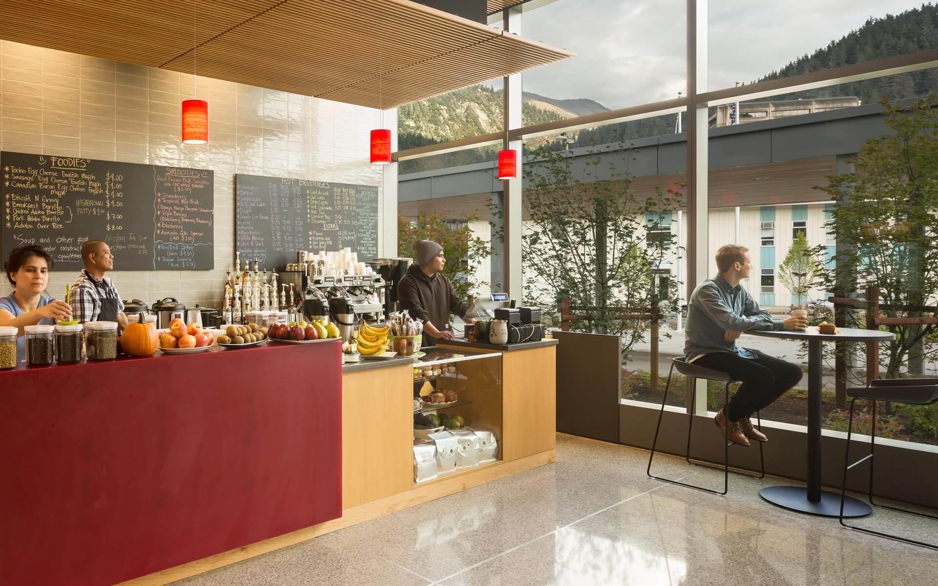 ECI Architecture Raven Cafe