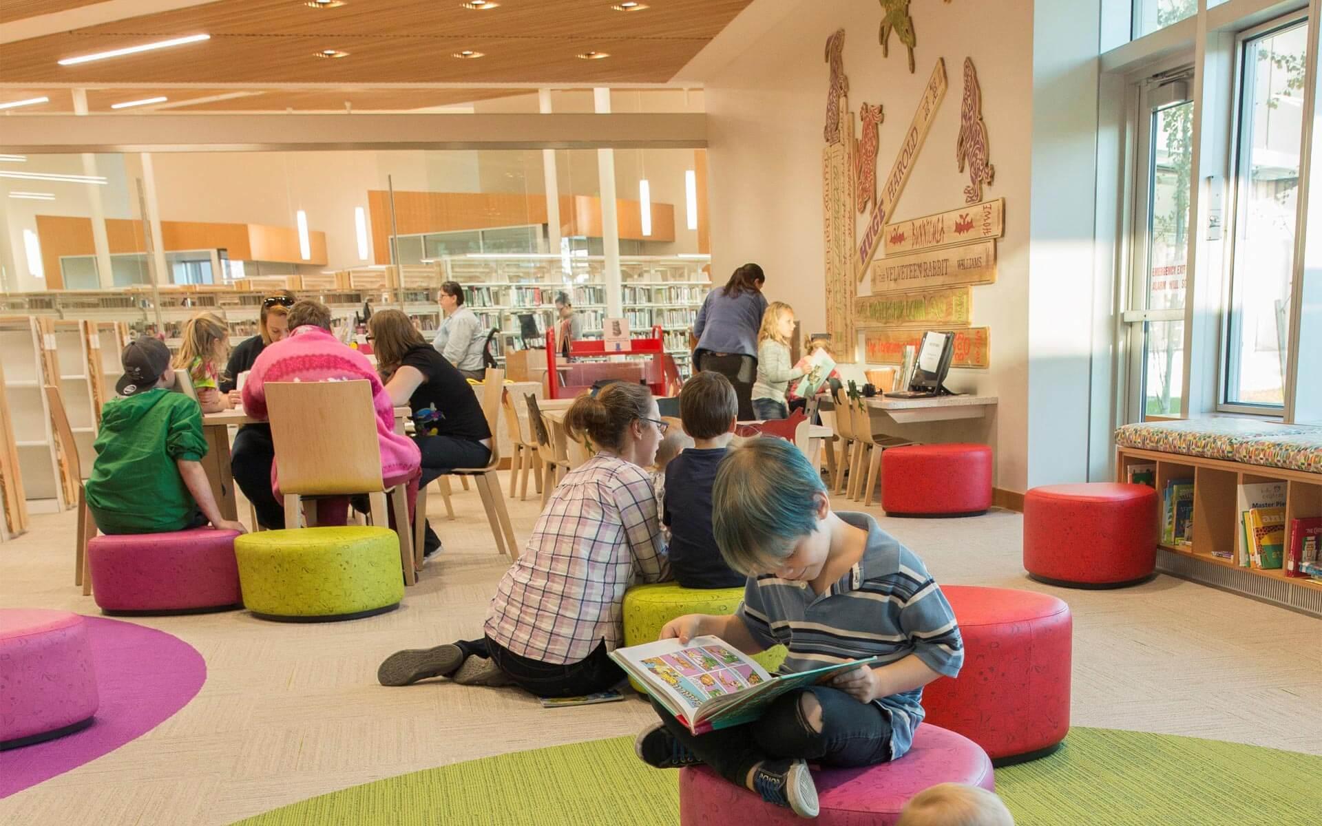 ECI Architecture Wasilla Public Library